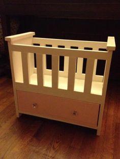 DIY Furniture : DIY Rosie's Baby Doll Bed