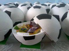 Lembrança para uma festa com tema futebol