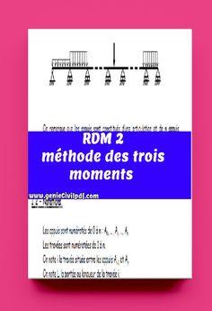 Cours : méthode des trois moments Civilization, Modern Architecture, Periodic Table, Genie, In This Moment, Pdf, Building, Balance Beam, Calculus