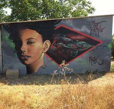 @viu_corbins #graffitiart #graffiti #art #pachamama #montana #lleidagraffiti #onelove
