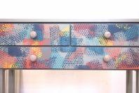 Konsola inspirowana projektem Annie Sloan, ktory wykorzystuje motyw z obrazu Paula Klee