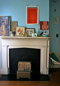 covet garden - blog - Jennifer Hannotte on Playing With Fire(placeMantels)