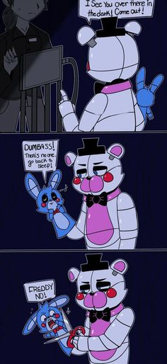 Dealing with Fun time Freddy in a nutshell