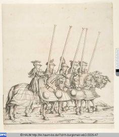 """Hohezeug Gestech"", Serie ""Der Triumphzug Kaiser Maximilians"", 1516/18, Hans Burgkmair der Ältere (1473-1531)"