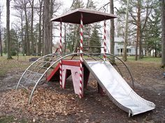 Remember when playground equipment was playground equipment? I want one of these.