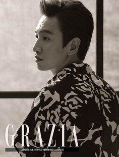 Lee Kwang Soo - Grazia Magazine July Issue It is hard to remember he IS a model. Korean Celebrities, Korean Actors, Running Man Cast, Lee Kwangsoo, Running Man Members, Kwang Soo, Asian Fever, Grazia Magazine, Daddy Long
