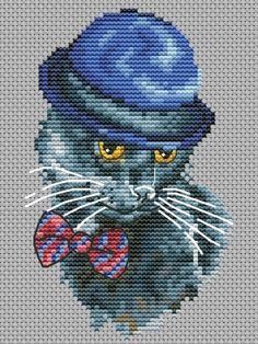 Cat Cross Stitches, Cross Stitch Patterns, Beaded Cross Stitch, Plastic Canvas Patterns, Perler Beads, Spiderman, Embroidery, Bird, Superhero