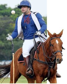 Shamsheer Ali - India's number one polo player. He played Junior World Cup in Columbia in 1995 at the age of eleven and never looked back.