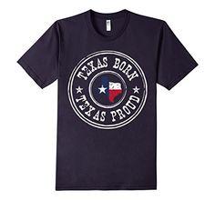 Texas Born - Texas Proud T-Shirt - Male Medium - Navy   #texas #TX #TexasPride #TexasBorn #lonestarstate #tshirt