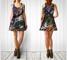 Abstract dress Flare dress Hipster dresses by ReformationsUK
