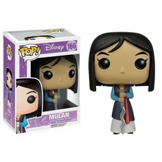 This is a Disney Mulan POP Vinyl Figure that is produced by the neat folks over at Funko. So cute! Mulan fans are sure to be excited by seeing her in Funko POP Vinyl style. Disney POP's are always pop