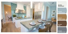 The Palazzo Mode Home at The Bridges, Delray Beach, FL #glhomes - Paint colors from Chip It! by Sherwin-Williams