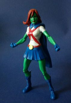 Custom Young Justice Miss Martian DC Comics Titans Justice League | eBay