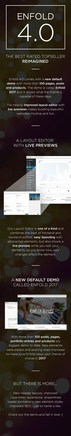Enfold is a clean,super flexibleand fully responsive  WordPress Theme (try resizing your browser), suited for busine...