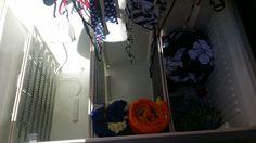 Frig into outside storage