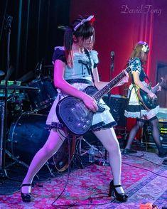 Chica Dark, Japanese Girl Band, Rock And Roll Girl, Women Of Rock, Guitar Girl, Bass, Female Guitarist, Metal Girl, Music Photo