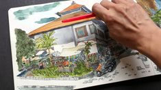 I'll teach you how to use one point perspective when sketching outdoors to get accurate angles. Below are links I mentioned in the video: Drawing outdoors wi...