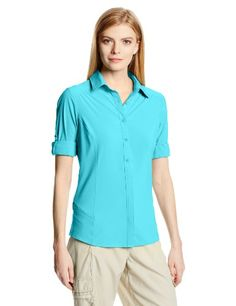 Columbia Sportswear Women's Saturday Trail II Long Sleeve Shirt, Geyser, X-Large *** Read more @ http://www.amazon.com/gp/product/B00DI9ZXFW/?tag=clothing8888-20&pyx=290716075240