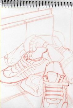 My sketches by Julia Civit, via Behance