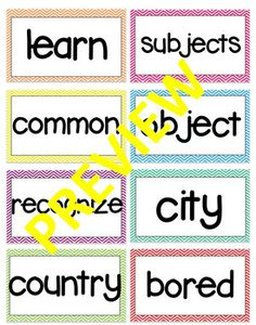 1st grade Vocabulary Words McGraw Hill Wonders #wordwall #firstgrade #1stgrade #vocabularywords #smallgroup First Grade, Grade 1, Vocabulary Wall, Mcgraw Hill Wonders, Reading Centers, Your Word, Small Groups, The Unit, Learning