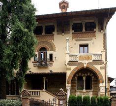 Rom, Quartiere Coppedè, Villino delle Fate (Coppedè-Viertel, Feenhäuser/Coppedè Quarter, Fairies' Houses)