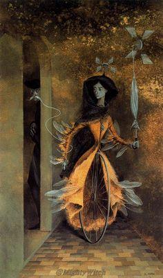 Caminos Tortuosos (Devious Ways) by Remedios Varo.