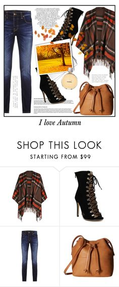 """""""Autumn Outfit * I love Autumn"""" by irisotten ❤ liked on Polyvore featuring Whiteley, Nudie Jeans Co., ECCO and Chanel"""