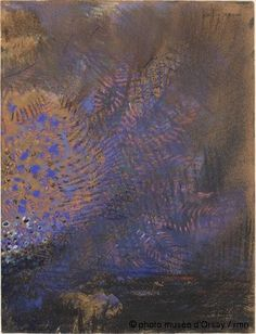 Odilon Redon   Fantaisie   entre 1840 et 1916
