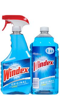 The original Windex® streak-free shine—for outstanding performance on windows, glass and dozens of other surfaces. Starts working before you start to wipe.