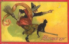 vintage autumn postcards | As the Clever Crow Flew: September 2005