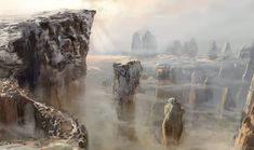 ArtStation - Mountains., Valeriy Zrazhevskiy