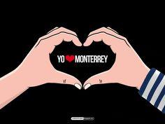 #LigraficaMX #Wallpaper #YoAmoA #Rayados @Rayados de Monterrey Oficial