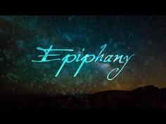 What Is Epiphany? - YouTube