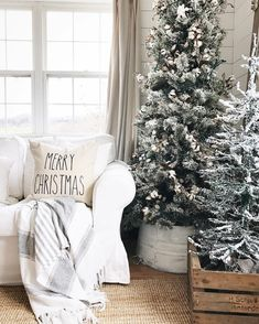 1)Upside down galvanized tub, painted distressed white for Christmas tree collar 2)use pallet wood for creating a stained Christmas tree box base and stencil antique logo on the side
