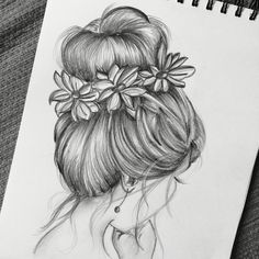 is part of pencil-drawings - pencil-drawings Girl Drawing Sketches, Art Drawings Sketches Simple, Pencil Art Drawings, Realistic Drawings, Pencil Sketch Drawing, Sketch Painting, Tumblr Art Drawings, Cool Sketches, Hipster Drawings