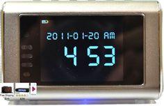 Foscam Mini Video Security Camera DVR in Black Alarm Clock New Free US Shipping