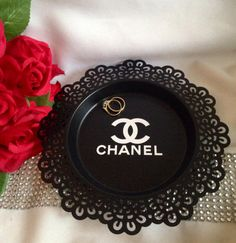 Chanel Inspired Jewellery Dish Chanel Ring Dish By Joyeriauk