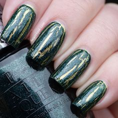 OPI The Amazing Spider-Man Collection - Shatter the scales over Just spotted the lizard