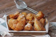 Špaldové fánky s tvarohom - Tinkine recepty