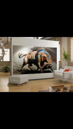 Pintura toros