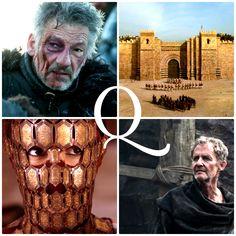 Q is for … … Qhorin Halfhand, Qarth, Quaithe, and Qyburn