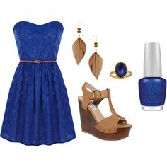 Summer Fling., created by withlove23x on Polyvore
