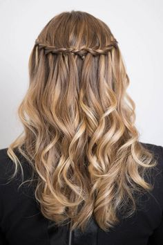 Follow This Step By Step Tutorial To Get The Perfect waterfall braid! - Page 7 of 7 - Where Fashion Meets Passion