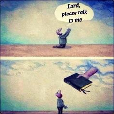 Lord, please talk to me | Christian Funny Pictures - A time to laugh
