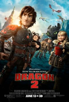 REVIEW: How-To-Train-Your-Dragon-2-Movie. The ultimate story of a boy and his pet!