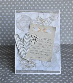 Card with quote  ILS papers [LOVE]