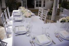 Lindsay's All White Bridal Shower inspired by Martha Stewart