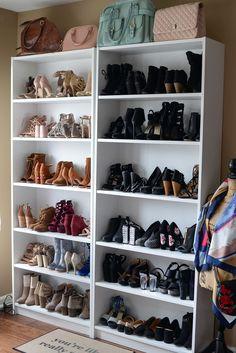 dressing room diy DIY Closet Room on a Budget: IKEA hacks! Spare Room Closet, Spare Bedroom Closets, Diy Walk In Closet, Ikea Closet Hack, Dressing Room Closet, Closet Hacks, Dressing Room Design, Closet Organization, Girls Bedroom
