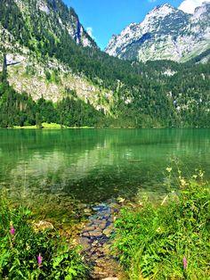 Lake Konigssee, Bavaria. Unreal beauty!