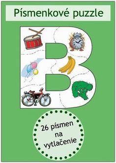 Písmenkové puzzle | Neposedné nožnice Montessori Activities, Preschool Worksheets, Pre Writing, Writing Skills, Numbers For Kids, Primary Teaching, Indoor Activities For Kids, Gross Motor Skills, Toddler Preschool